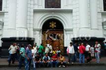 Anuncian plantón en protesta por toma de transportadores de la Catedral de Cali