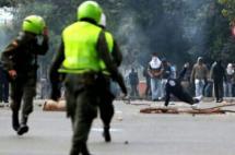 Bloqueada Avenida Pasoancho por disturbios en Univalle