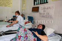 Enfermeras en huelga de hambre por crisis del Hospital Departamental de Cartago