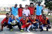 Jóvenes discapacitados de Cali buscan ayuda para jugar torneo de fútbol