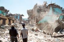 Nepal, once días despúes del terremoto