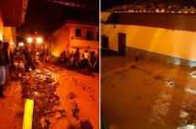 Fuerte lluvia volvió a generar temor en habitantes de Salgar