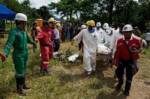 Ya son doce los cuerpos recuperados en minas de Riosucio, Caldas