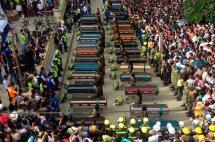 En Salgar miles de personas lloraron a sus muertos