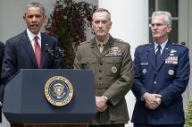 Obama elige al máximo comandante militar de EE.UU.