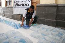 Tumaco tendrá agua potable en 25 días tras atentado que causó grave contaminación