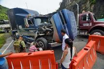 Imágenes: protesta indígena paralizó ingreso a Buenaventura