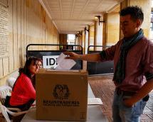 Registraduría dio a conocer los municipios con más trasteo de votos