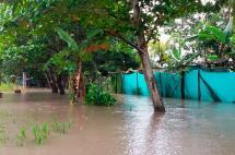 Más de siete mil damnificados dejan las lluvias en el país