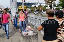 Arrojar basura en estaciones del MÍO tiene multa de 250 mil pesos