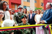 Cabo que perdió sus piernas en mina en Norte de Santander recibió una vivienda