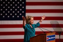 Hillary Clinton centra atención en el primer debate por la presidencia de EE.UU.