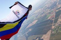 Falleció en Suiza Jhonathan Flórez, el 'hombre pájaro' colombiano