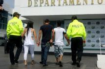 Cae banda 'Los Patos', señalada de hurtar a taxistas en centros comerciales de Cali