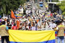 Comerciantes de Cali se unen a nueva marcha nacional contra Ley Anticontrabando