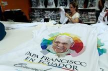 Ecuador, listo para recibir al papa Francisco en su primera visita