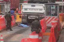 Hombre falleció al caer de una volqueta en peaje de Loboguerrero