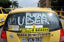 Hoy, nueva jornada de protesta de los taxistas contra Uber