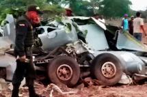 Avanzan operaciones para rescatar cuerpos de militares muertos en accidente en Codazzi