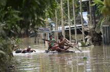46 personas muertas y más de 200.000 afectadas por inundaciones en Birmania