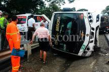 Cuatro heridos en accidente de tránsito en la doble calzada Buga-Tuluá