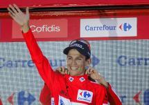 Esteban Chaves ganó la sexta etapa y retomó el liderato de la Vuelta a España