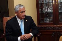 Retiran inmunidad a presidente de Guatemala para investigarlo por corrupción