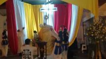 Obispo de Buenaventura presidió nueva jornada de Rosario al Parque