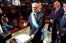Alejandro Maldonado es el nuevo presidente de Guatemala tras renuncia de Pérez