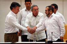 Santos, alias Timochenko y cinco víctimas fueron nominados al premio Nobel de Paz