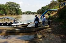 Ponen freno a agricultores que sacaban agua del río Cauca