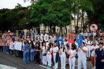 Por paro, 26 médicos quedan para atender pacientes en el HUV