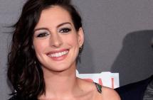 Actriz Anne Hathaway está embarazada de su primer hijo