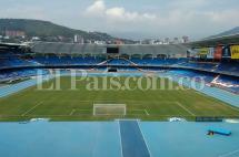Incautan armas blancas y objetos cortopunzantes en estadio Pascual Guerrero