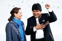El reto es salvar el planeta del cambio climático, presidentes latinoamericanos
