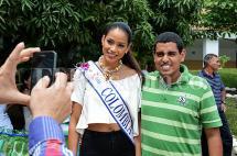 En fotos: La Señorita Colombia, de visita por el Valle