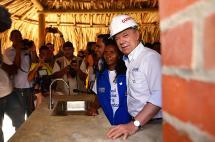 Víctima de El Salado se quedó con la casa número 100 mil del programa viviendas gratis