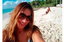 Sofía Vergara y Joe Manganiello compartieron las fotos de su luna de miel