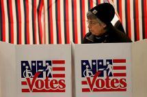 Las primarias en New Hampshire, EE.UU., en un resumen de 10 imágenes