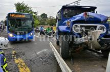 Preocupan accidentes con buses del MÍO