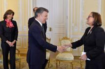 Asumió oficialmente la nueva embajadora de la Unión Europea en Colombia