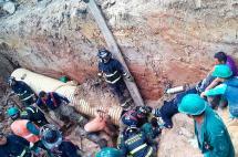 Contratista del Acueducto de Bogotá falleció atrapado en excavación