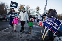 Donald Trump y Sanders ganaron con holgura en primarias de New Hampshire