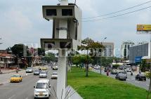 Velocidad máxima de fotomultas fue modificada en algunas zonas de la ciudad