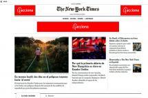 The New York Times presenta su portal en español de contenido gratuito