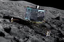 Pierden contacto con el robot Philae, posado en un cometa