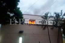 Investigan causas del incendio en hospital de Cartago
