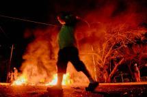 En video: tensión en Maracaibo, continúan protestas por el 'apagón' en Venezuela