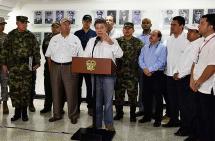 Santos ofreció $1000 millones de recompensa por cabecilla del ELN en Arauca