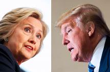 Donald Trump y Hillary Clinton, candidatos ganadores pero impopulares